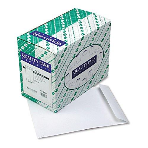 Quality Park 41688 Catalog Envelope, Plain, 24Lb, 10-Inch x13-Inch, 250/BX, White