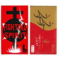 ゼリヤコート うすうす 1500 12個入 + FIGHTING SPIRIT (ファイティングスピリット) コンドーム Lサイズ 12個入