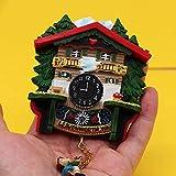 shenlanyu Imán de Nevera Reloj De Cuco Alemán De Gran Tamaño Colección De Imanes De Nevera Magnética Recuerdos Turísticos Imanes Decorativos Decoración De Cocina