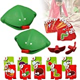 Quick Tongue Game,Interactive Catch Bugs Game Tongue Game Funny Desktop Games Board Games for Kids Adults Family Party Be Quick to Lick Cards Toy Set (2PCS)