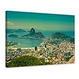 Bilderdepot24 Bild auf Leinwand | Rio De Janeiro - Berg