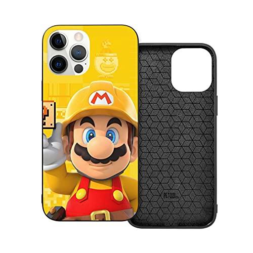 Super Mario-Make - Carcasa para iPhone 12, color blanco