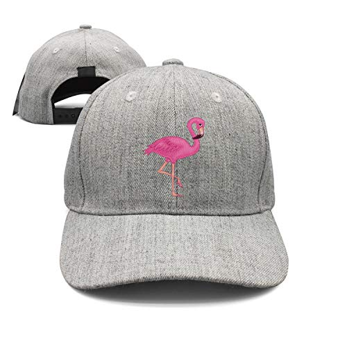 fjfjfdjk Pink Flamingo Trucker Hat Summer Mesh Cap Modern Urban Style Cap