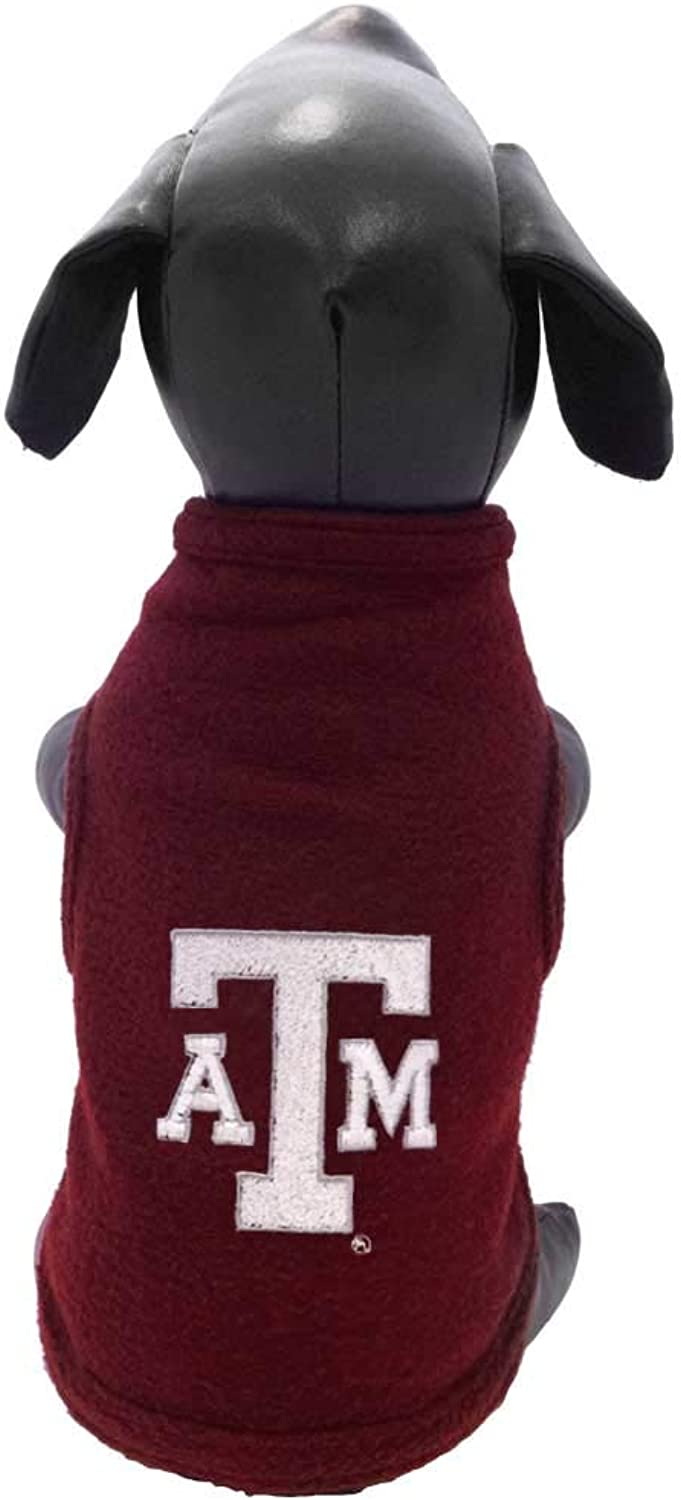 NCAA Texas A&M Aggies Polar Fleece Dog Sweatshirt