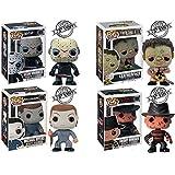 QToys Funko Pop! Horror Movies Series Character Jason,Leatherface,Michael Myers,Freddy Chibi...