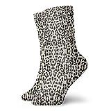 lkjhg478 Snow Leopard Bigger and Better Mujeres Hombres Casual Impreso Funny Crew Calcetines Calcetines de tobillo 30 cm / 11.8 pulgadas