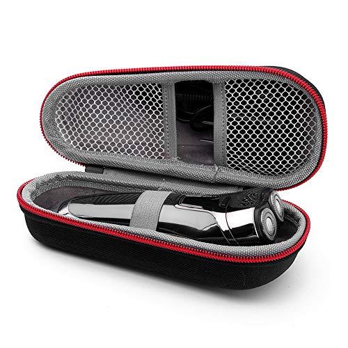 Étui de protection de sac de protection pour rasoir électrique, étui rigide boîte de rasoir portable barbe rasoir voyage sac de rangement rasoir électrique organisateur boîte cas(#)