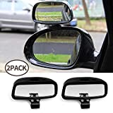 Blind Spot Mirrors for car motorbike 2Pack Right + Left Adjustable Wide Angle