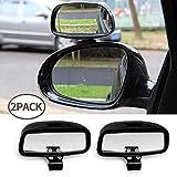Specchietto cieco Auto Angolo ciec Universale 2PCS,Specchio Retrovisore Grandangolo Regolabile Specchietti per Auto Moto (type2)