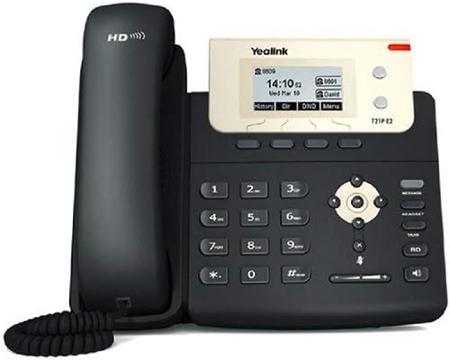 Yealink SIP-T21P E2 Téléphone IP Noir
