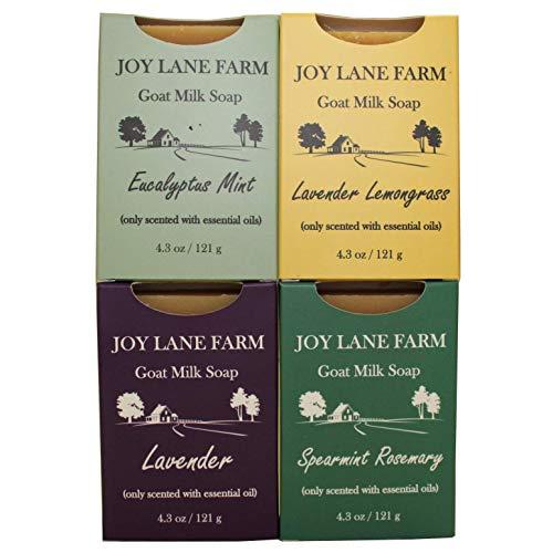 Joy Lane Farm - Goat Milk Soap (Essential Oil Variety Pack)