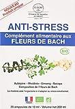 Compléments Alimentaires aux Fleurs de Bach - Stress - Coffret de 20 ampoules