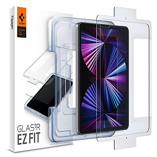 Spigen EZ Fit Protector Pantalla para iPad Pro 11 Pulgadas 2021, 2020, 2018 y iPad Air 4 generación 2020-1 Unidad