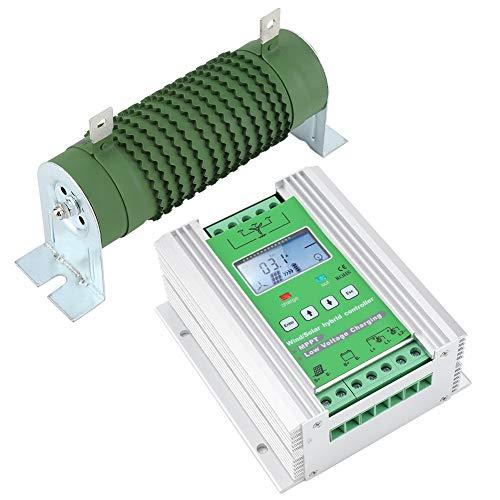 Arnés De Control, Generador De Viento Controlador Híbrido Solar Eólico Tamaño Pequeño Función De Reconocimiento Automático Para Aerogeneradores De 600W Para Mujer Para Aerogeneradores(JW1230)