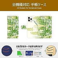 Mongeese iPhone 11 ケース 手帳型 アイフォン11スマホケース アイホン11ケース 花柄 耐衝撃 カードポケット 専用カメラ穴 スタンド機能 和草 フラワー シンプル 15350120