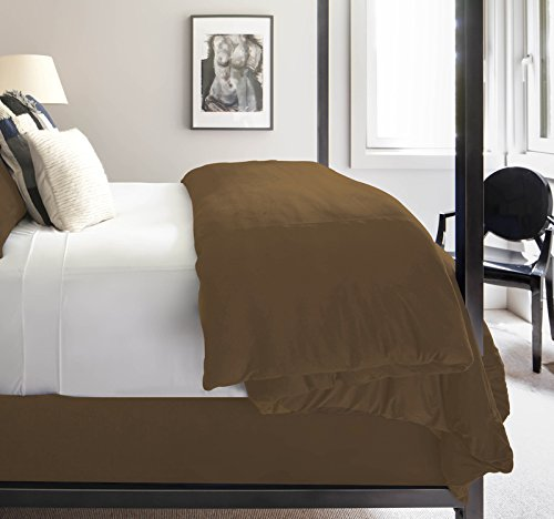 SHEEX Technical Suede Duvet Cover Set, Wonderfully Soft with Temperature Control, Hazelnut, King
