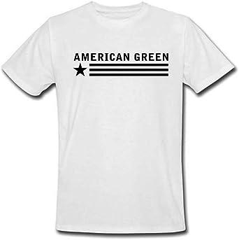 American Green Classic Tee (White Shirt - Black Logo)