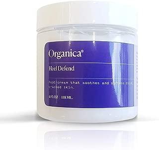 Organica Wellness Heel Defend Foot Lotion | Deep Moisturizer Foot Cream for Dry Cracked Feet Repair | Callus Cream Hydrating Crack Skin Heal