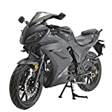 X-PRO 125cc Motorcycle Adult Motorcycle Gas Motorcycle Dirt Motorcycle Street Bike Motorcycle Bike Full Assembled (Matt Black)