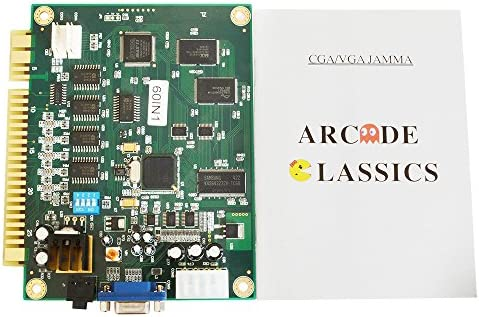 BLEE 60 in 1 Jamma Board Classical Arcade Game PCB Jamma for CGA VGA Output Cocktail Table Machine product image