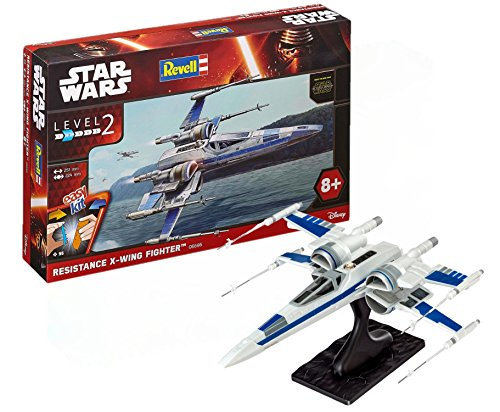 Revell 06696, Star Wars - Caza X-Wing resistencia, level 2