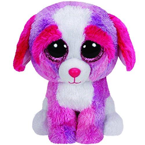 TY 36124 - Sherbet - Hund mit Glitzeraugen, Beanie Boo's, Valentine Special, limitiert, 15 cm, farbig