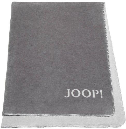 Joop 81238 Fleece-Decke Graphit-Rauch 150 x 200 cm