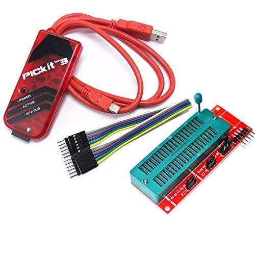 Sookg PICkit3 Programmer/Debugger,Es wird für die Entwicklung und Debugging von PC-Software und Hardware verwendet,Es wird verwendet, um Programmierer zu entwickeln.