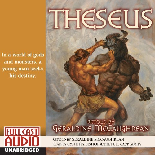 Theseus audiobook cover art