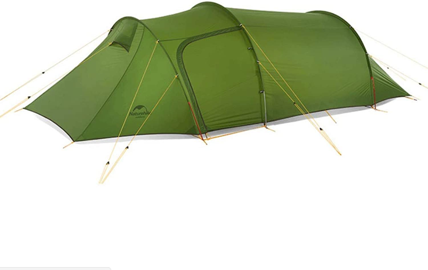 Ultralight Tunnel Tent Outdoor Double Mountaineering Camping One Room Four Seasons Tent Camping Hiking 3 Persons Tent