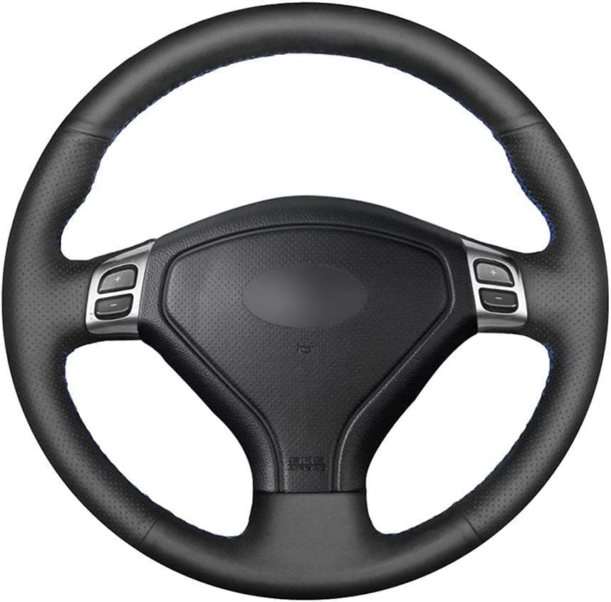 BAWAQAF Max 50% OFF Hand-Stitched Steering Wheel Whee Leather Cover Ranking TOP19