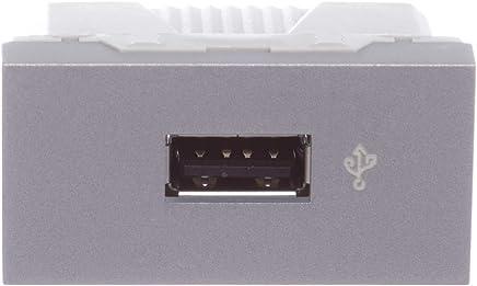 Módulo Tomada USB (Conector de Dados) 1 Módulo Alumínio Orion, Schneider Electric S70547174