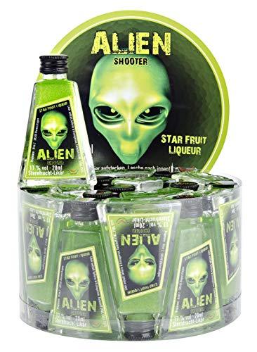 Krugmann Alien Sternfrucht Glitzerlikör 20 x 2 cl