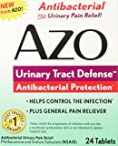 AZO Urinary Tract Defense Antibacterial Protection 24 Tablets (Pack of 2)