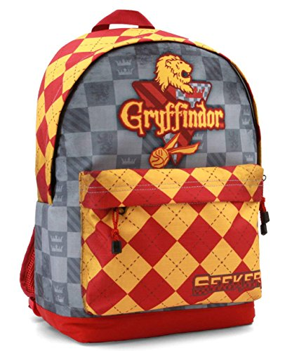 KARACTERMANIA Harry Potter Quidditch Gryffindor Mochila tipo casual, 44 cm, 23 litros, Rojo