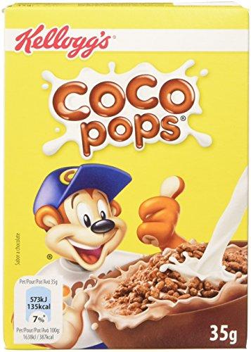 Kellogg's Coco Pops Cereali e Muesli - Confezione da 40 x 35 gr
