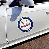 Canoë et avirons autocollants de voiture drôles mode enveloppe de voiture bricolage Hip Hop crème solaire pare-chocs décoration 13 Cm X 13 Cm(Ensemble de 2)