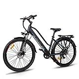 Macwheel Cruiser-550 28' Bicicleta Eléctrica de Ciudad/Excursión, Batería de Iones de Litio Extraíble 36V/10Ah, Suspensión Delantera, Frenos de Disco Dobles, Bicicleta Eléctrica para Adulto Unisex