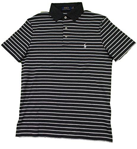 Polo Ralph Lauren Men's Pony Logo Striped Interlock Polo Shirt