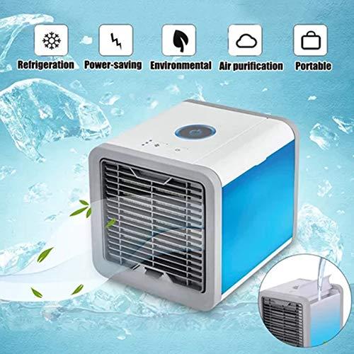Tragbarer Luftkühler,Mit USB Ventilatoren Air Cooler,3 Speed Desktop-Lüfter Verdunstungsbefeuchter Mobile Klimaanlage,Für Haus,Zimmer,Büro,B