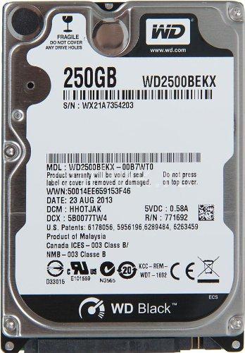 Western Digital WD2500BEKX Black HardDisk