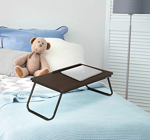 Nilkamal Inspiron Portable Laptop Table (Walnut)