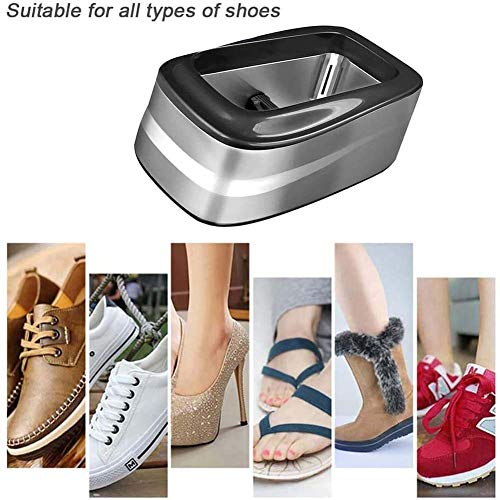 Elitte Rutschhemmend Schuhhüllen Füßling Fußüberzieher Überzieher, utomatische Schuhabdeckung Maschine Haushaltsmaschine einschließlich 100 PCS-Überschuhe