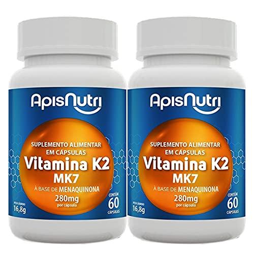 Kit 2 Und Vitamina K2 60cps 280mg