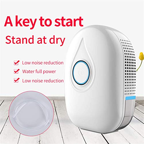 Best Buy! XZYP Semiconductor Mini Dehumidifier,Portable Dehumidifier for Home Bedroom 600Ml (20.3Fl....