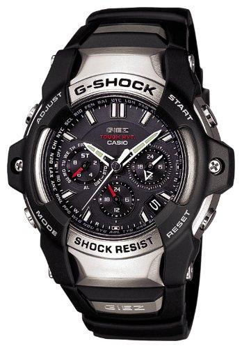 [カシオ] 腕時計 ジーショック GIEZ 電波ソーラー GS-1400-1AJF ブラック