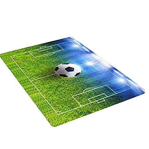 EPRHY - Tapis de football pour enfants, tapis de jeu antidérapant, 50 x 80 cm, Polyester, #3, 50 x 80 centimeters