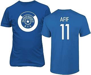Tcamp National Soccer 2019 Qatar #11 Akram AFIF Copa America T-Shirt
