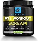 Bodybuilding.com Advanced Scream Pre-Workout Powder - Teacrine™, Citrulline,...