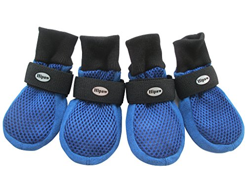 HiPaw Breathable Mesh Dog Boots Hot Pavement...